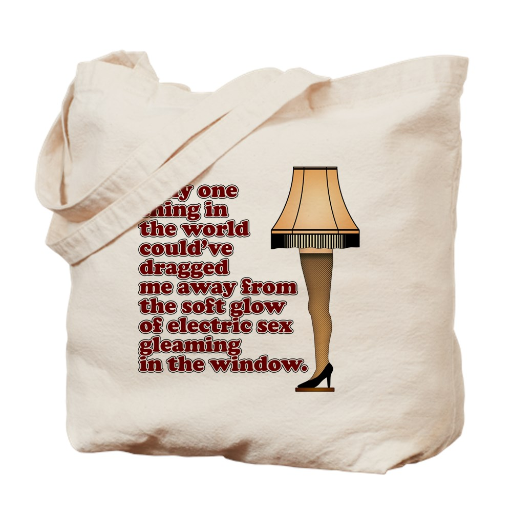 Soft Glow of Electric Sex Quote Tote Bag
