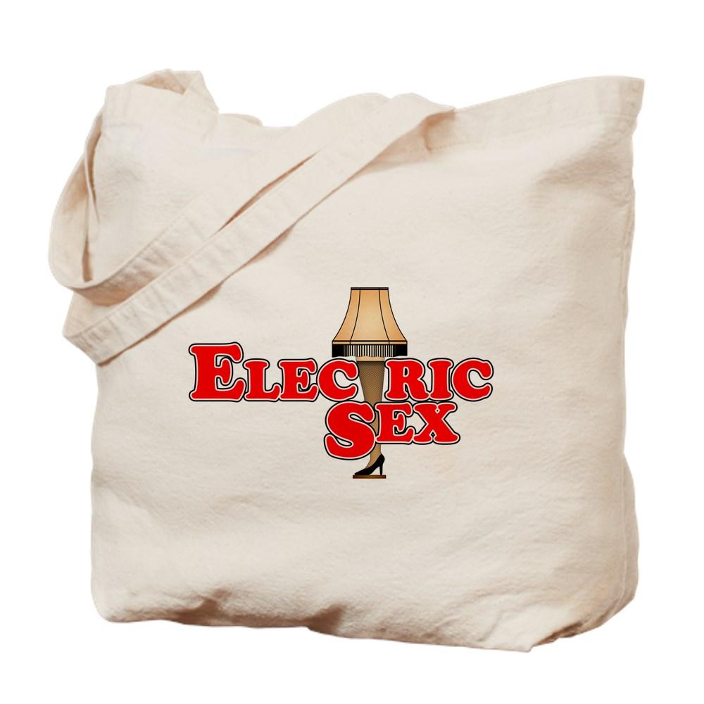 Electric Sex Leg Lamp Tote Bag