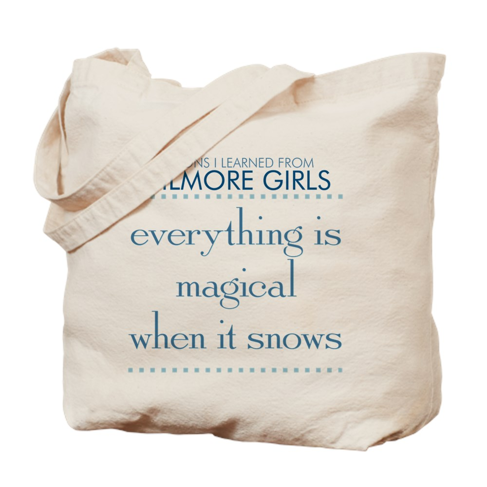 Magical When It Snows Tote Bag