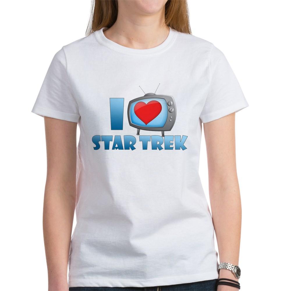 I Heart Star Trek Women's T-Shirt