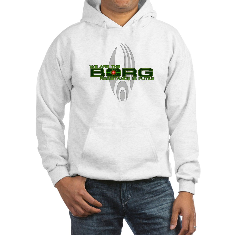 We Are the Borg - Resistance is Futile Hooded Sweatshirt