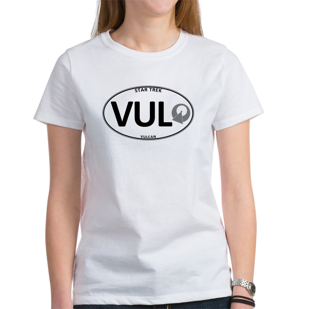 Star Trek: Vulcan White Oval Women's T-Shirt