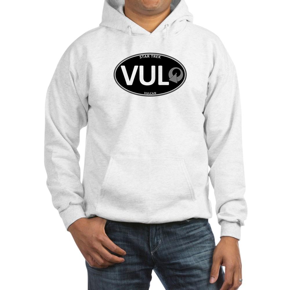 Star Trek: Vulcan Black Oval Hooded Sweatshirt