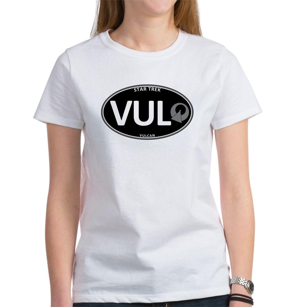 Star Trek: Vulcan Black Oval Women's T-Shirt