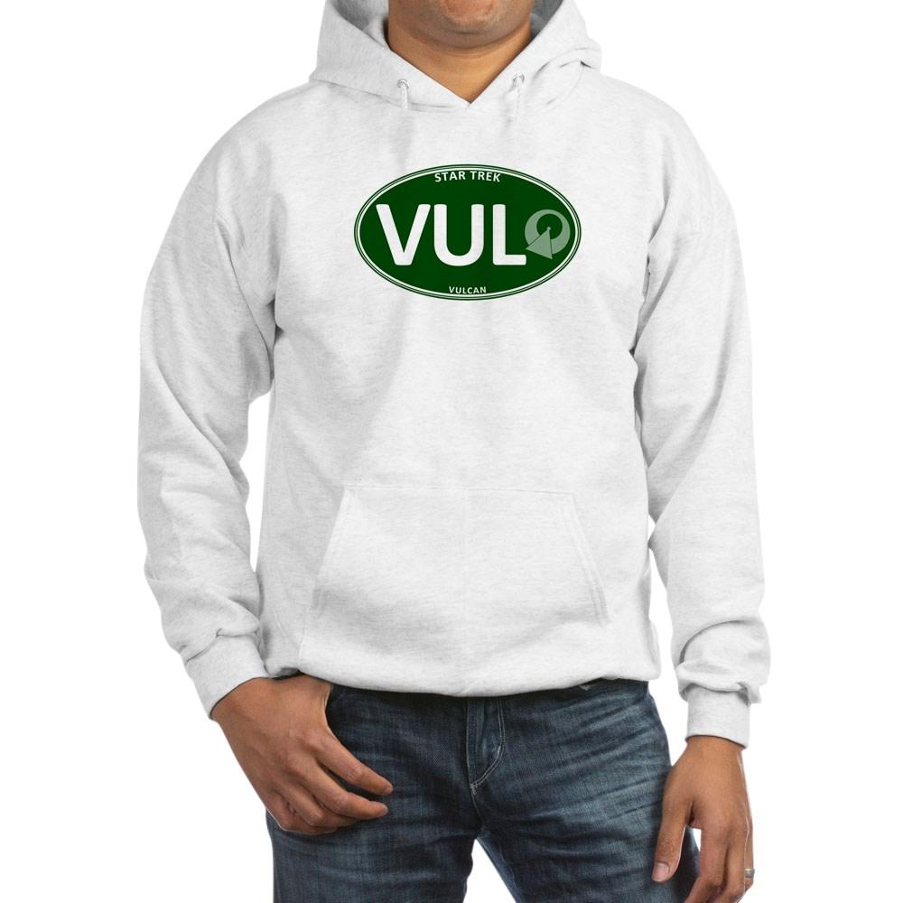 Star Trek: Vulcan Green Oval Hooded Sweatshirt
