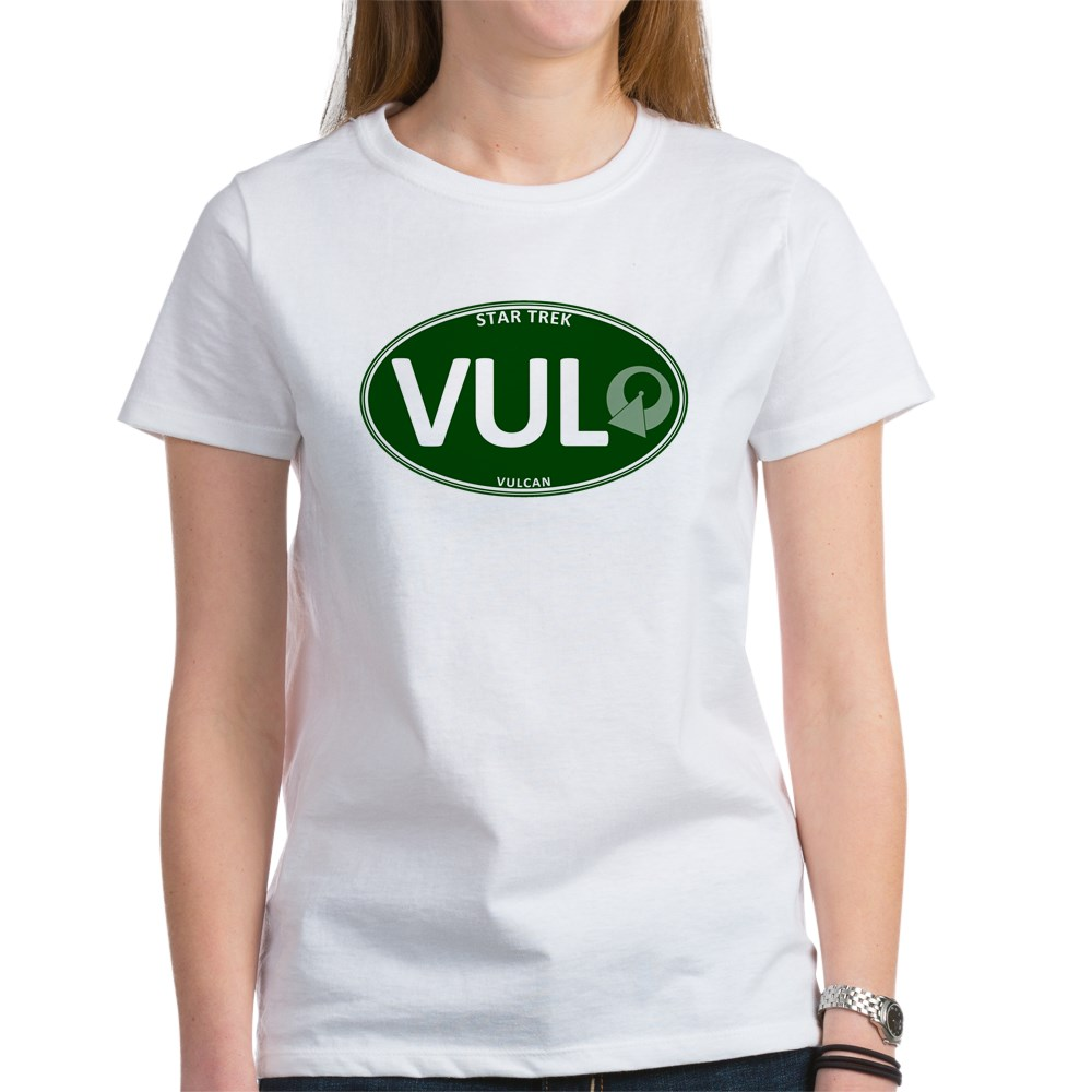 Star Trek: Vulcan Green Oval Women's T-Shirt