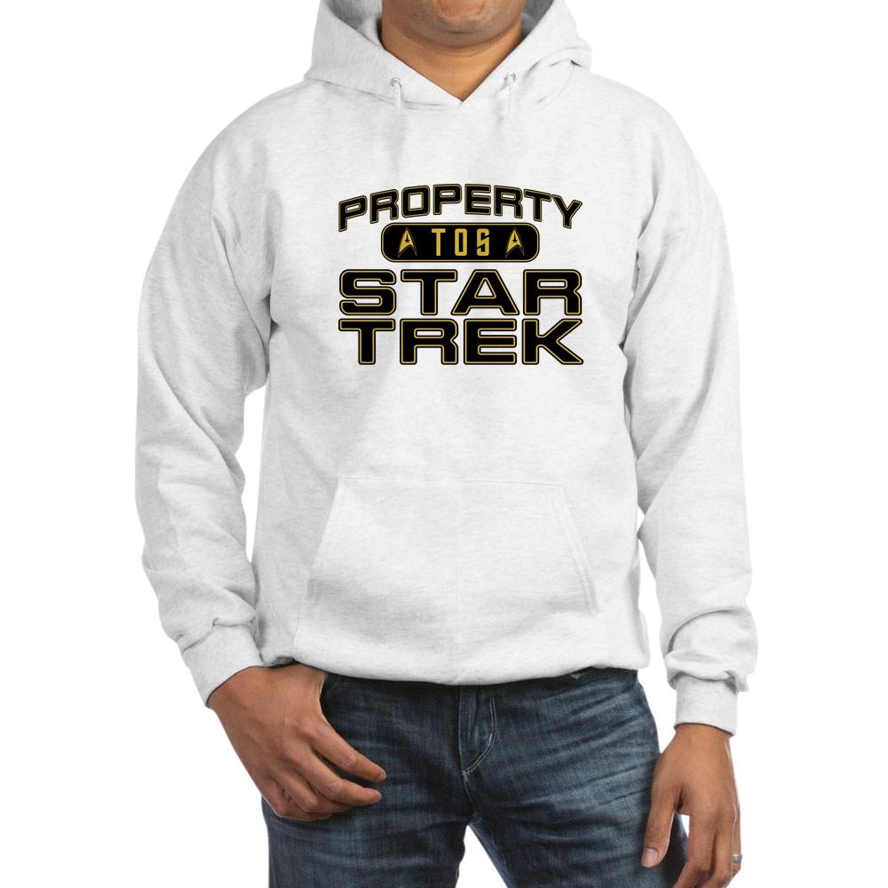 Gold Property Star Trek - TOS Hooded Sweatshirt