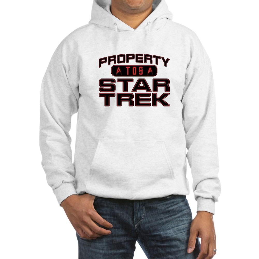 Red Property Star Trek - TOS Hooded Sweatshirt