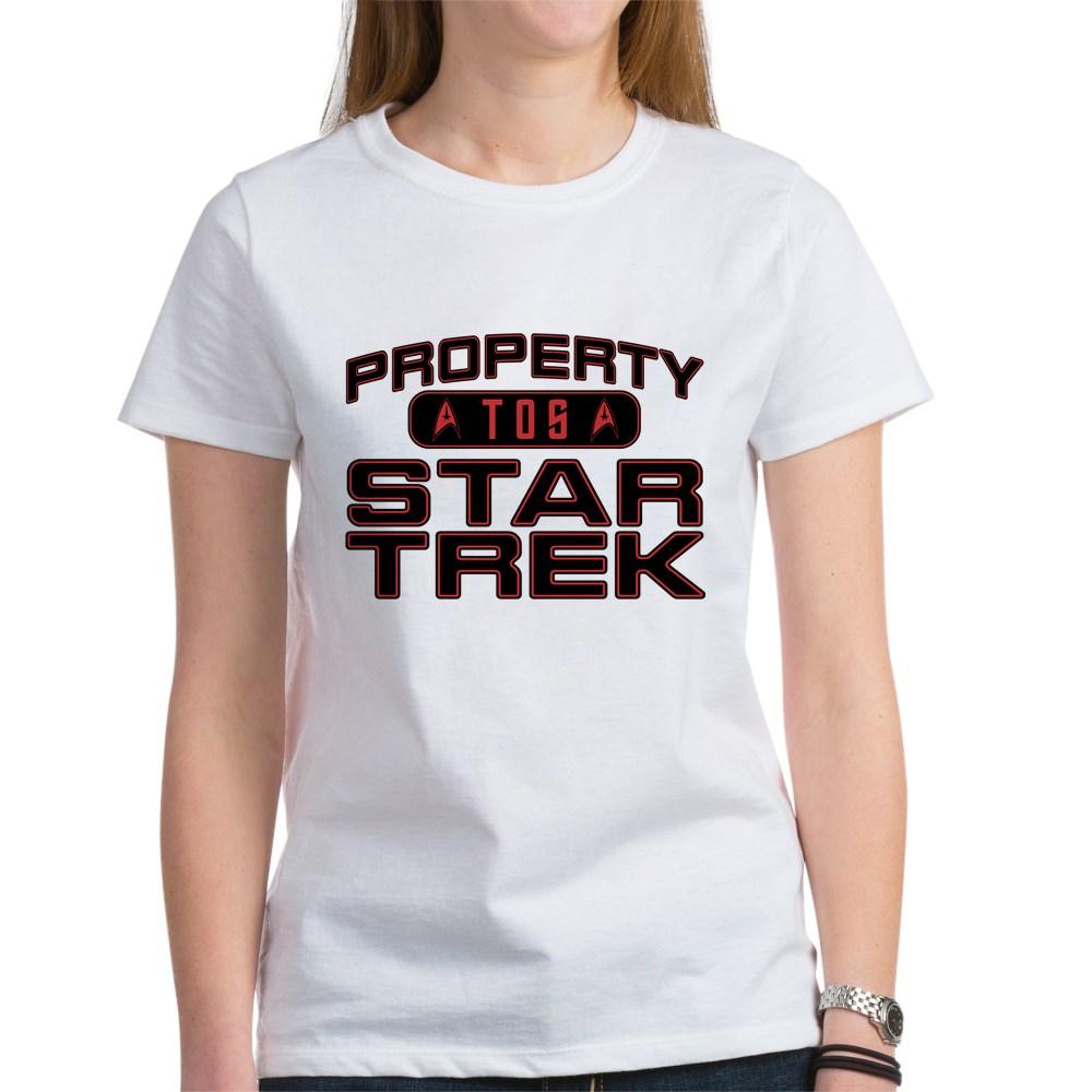 Red Property Star Trek - TOS Women's T-Shirt