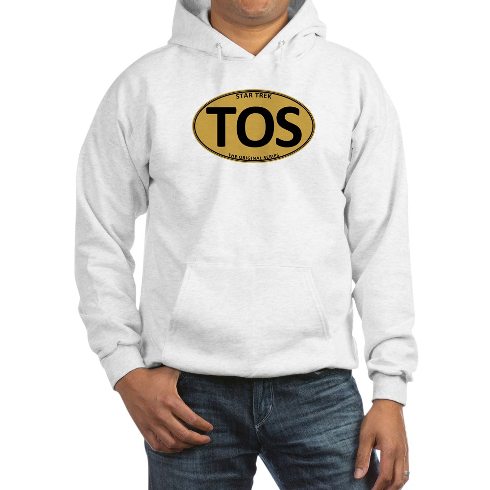 Star Trek: TOS Gold Oval Hooded Sweatshirt