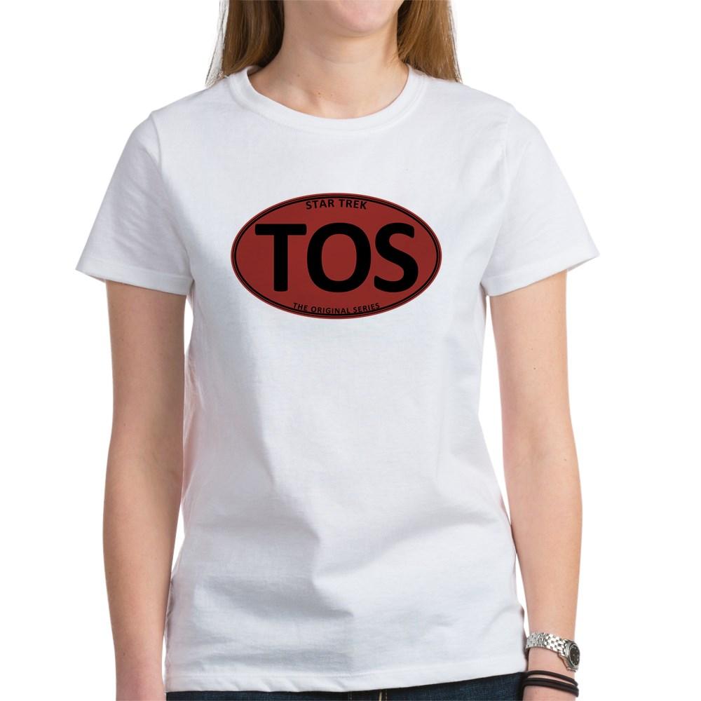 Star Trek: TOS Red Oval Women's T-Shirt