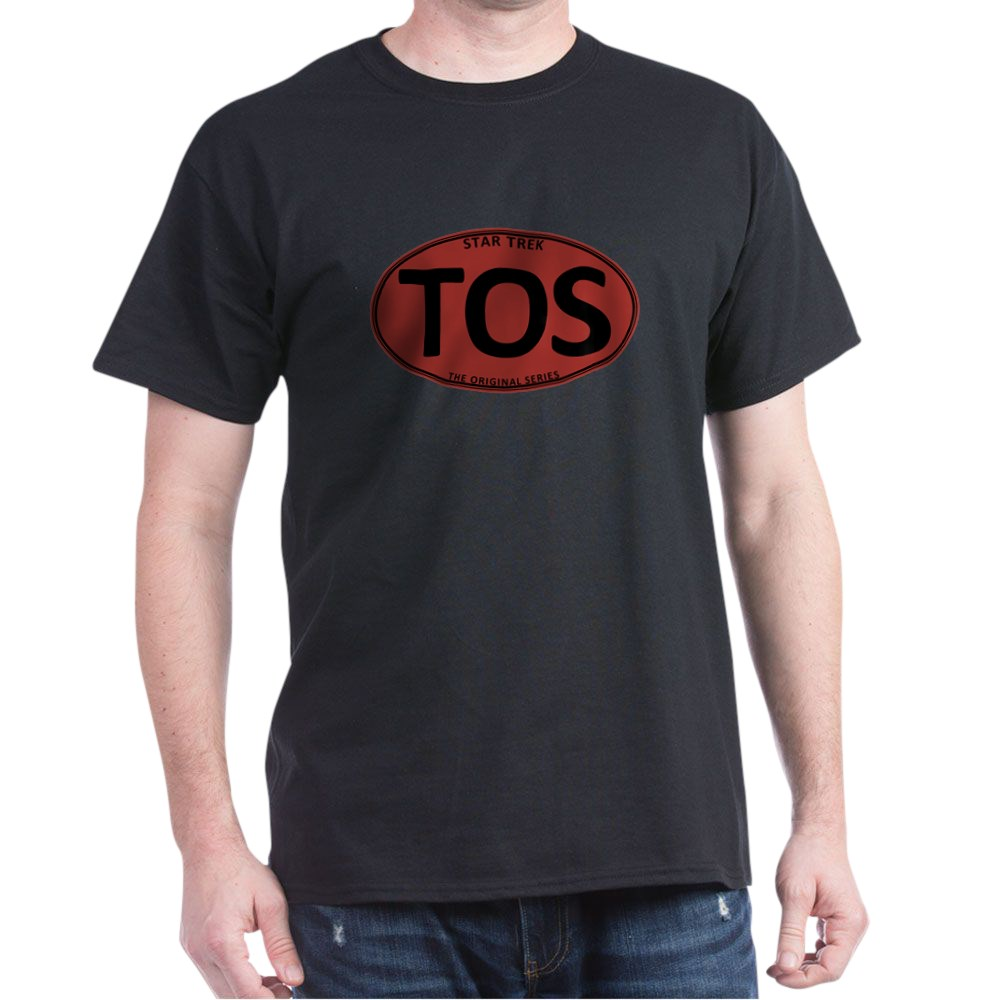 Star Trek: TOS Red Oval Dark T-Shirt