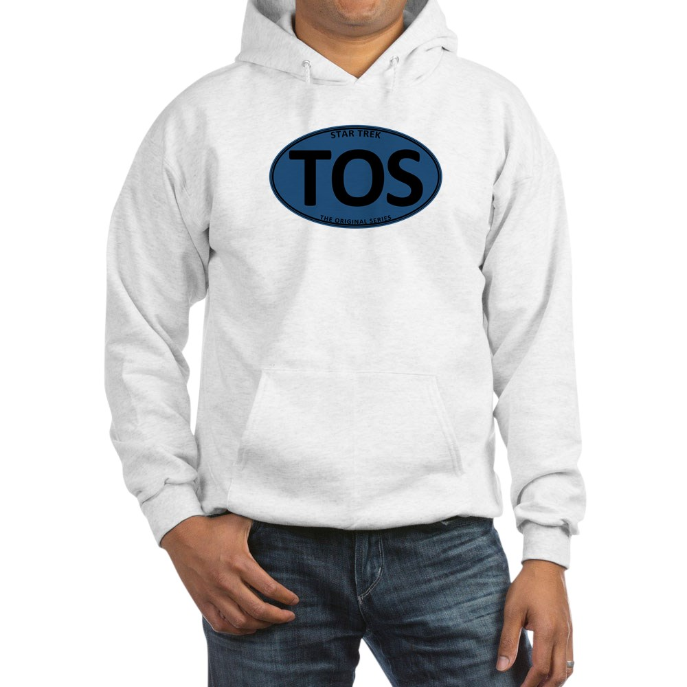 Star Trek: TOS Blue Oval Hooded Sweatshirt