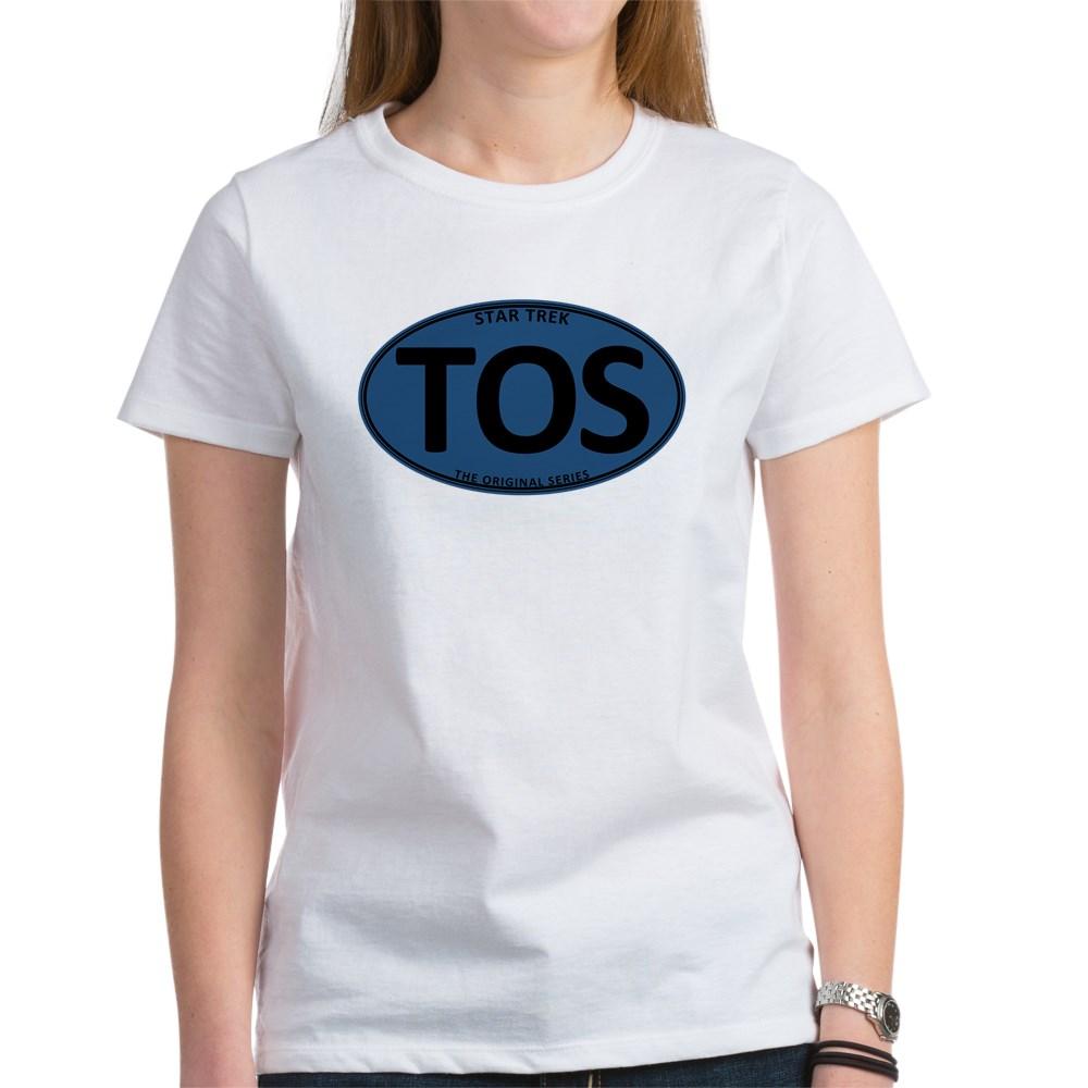 Star Trek: TOS Blue Oval Women's T-Shirt