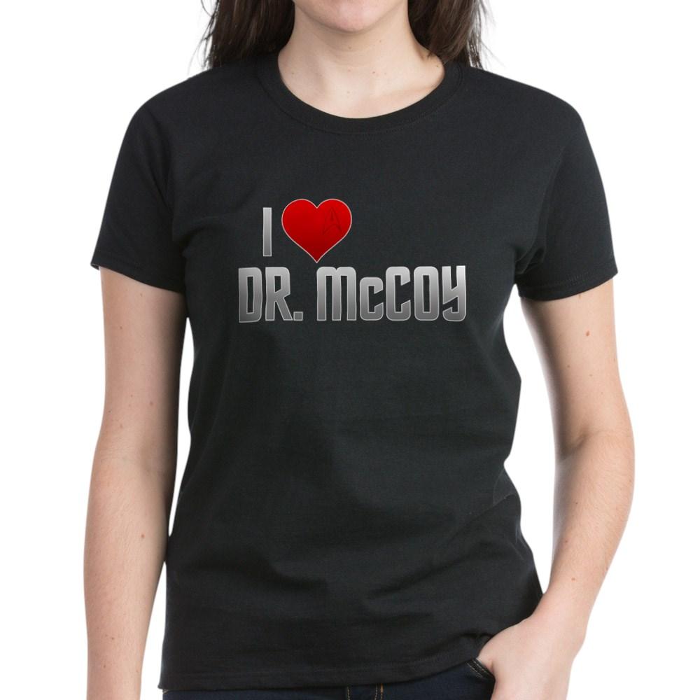 I Heart Dr. McCoy Women's Dark T-Shirt
