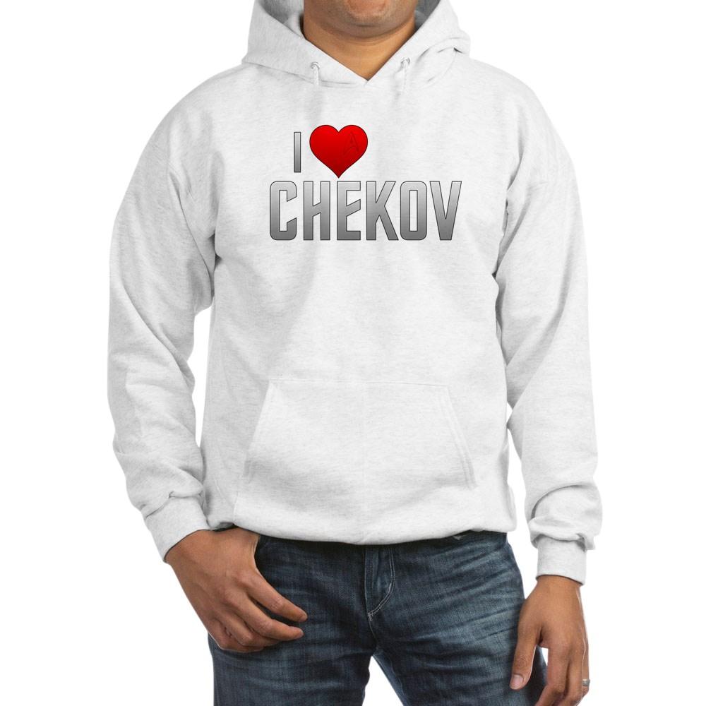 I Heart Chekov Hooded Sweatshirt