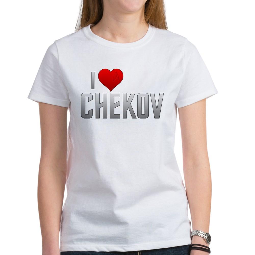 I Heart Chekov Women's T-Shirt