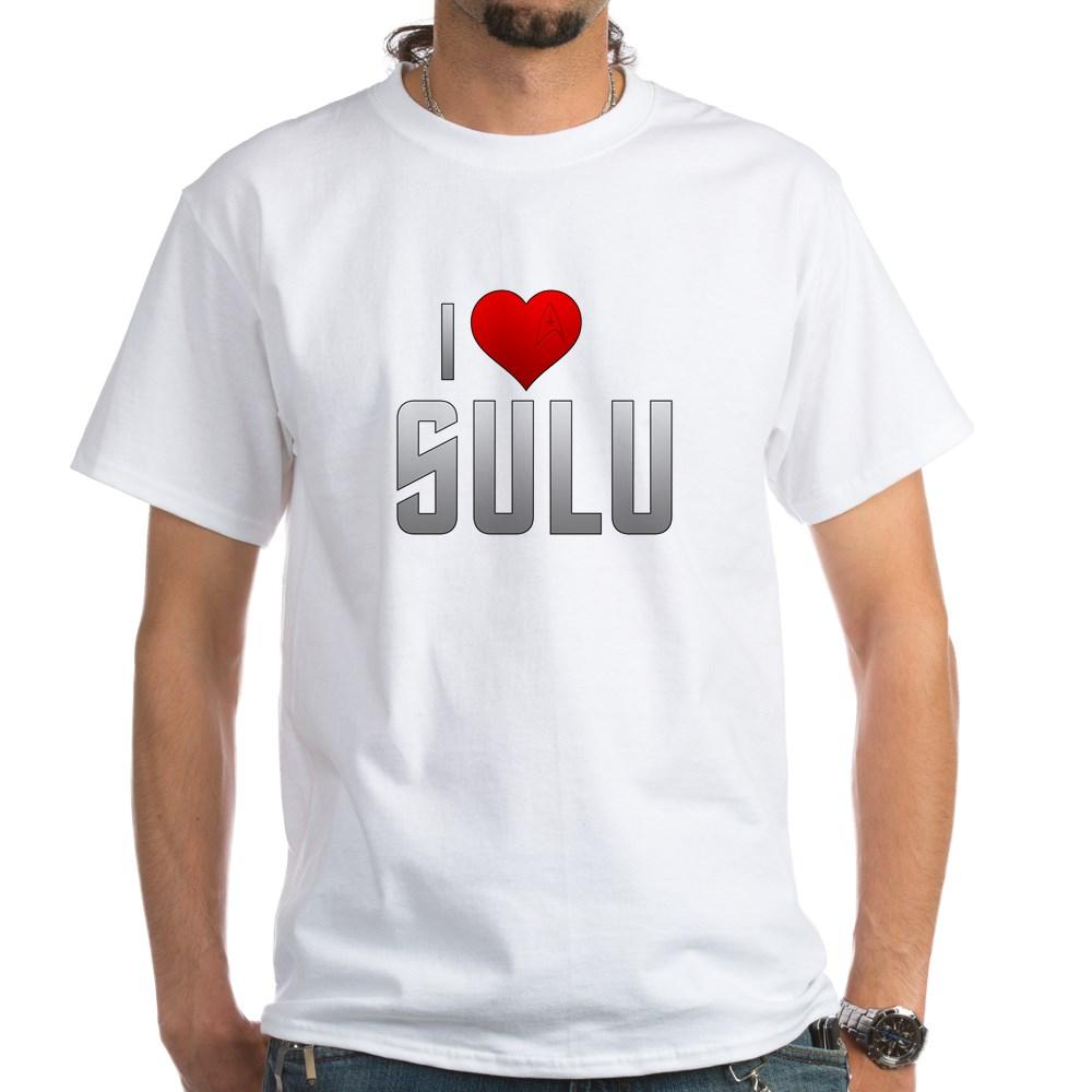 I Heart Sulu White T-Shirt