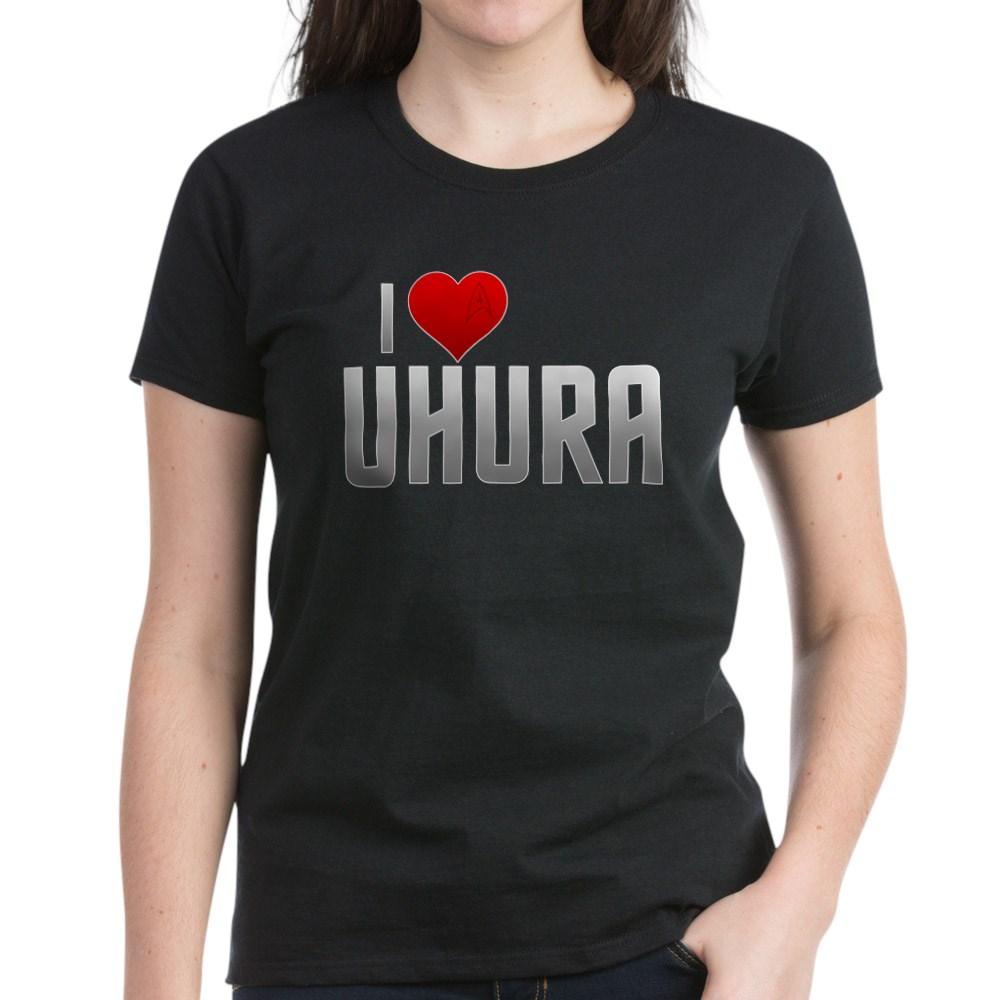 I Heart Uhura Women's Dark T-Shirt