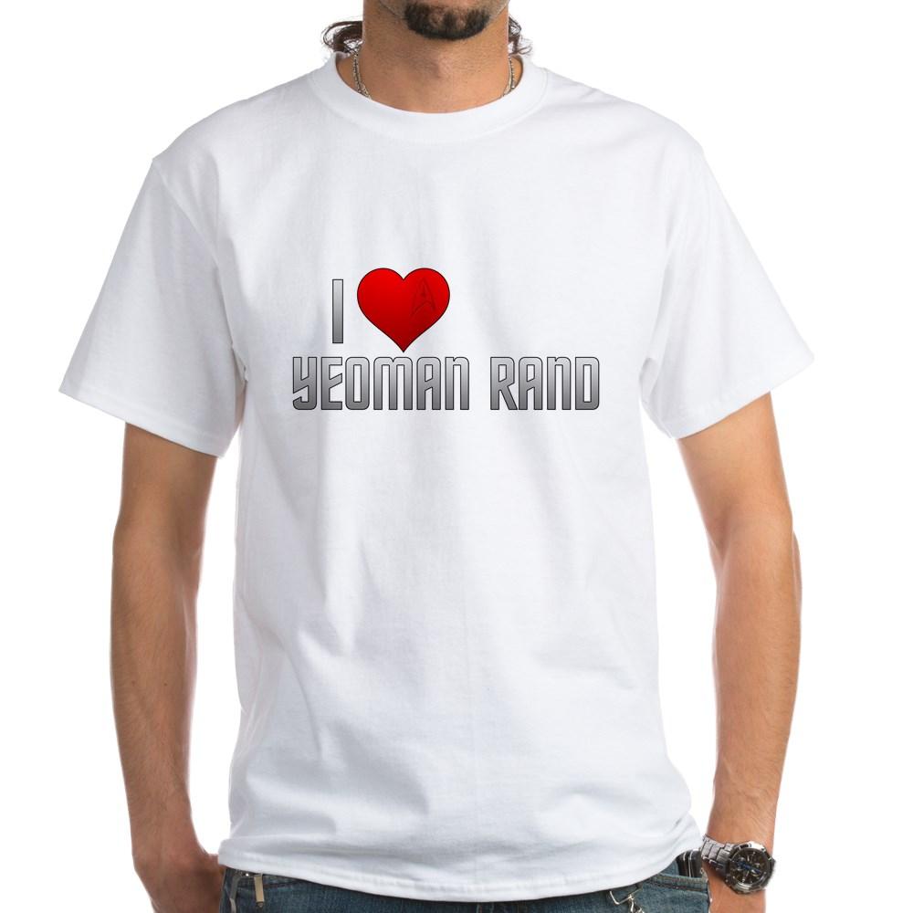 I Heart Yeoman Rand White T-Shirt