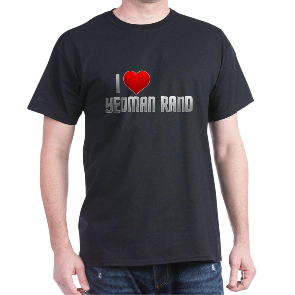 I Heart Yeoman Rand Dark T-Shirt