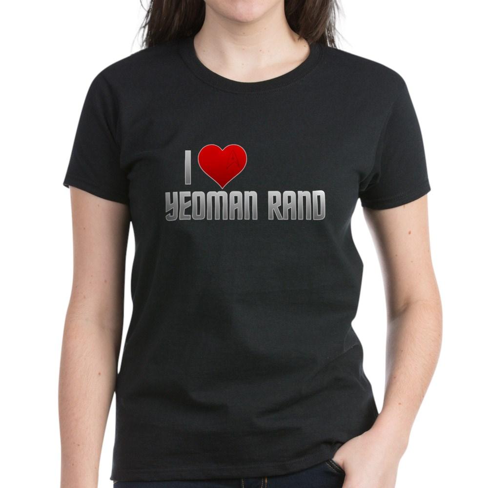 I Heart Yeoman Rand Women's Dark T-Shirt