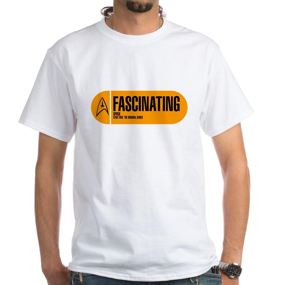Fascinating - Star Trek Quote White T-Shirt