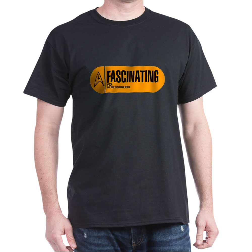 Fascinating - Star Trek Quote Dark T-Shirt