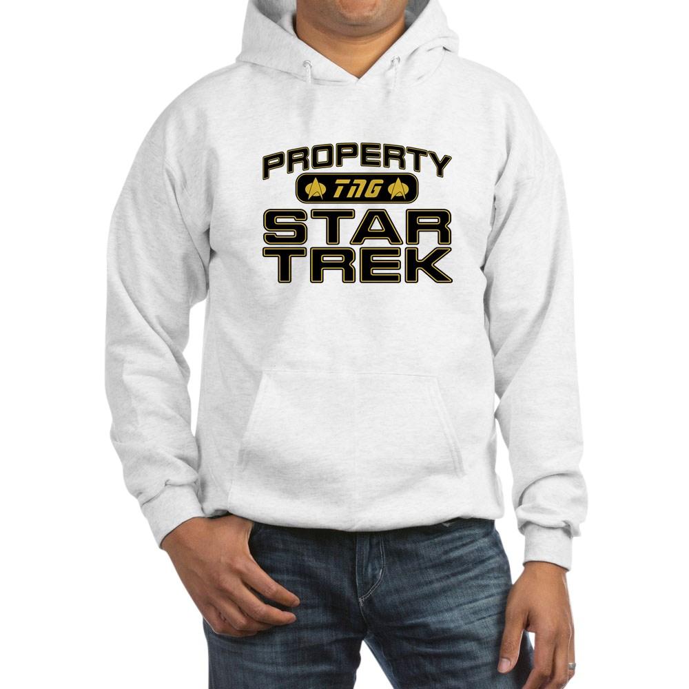 Gold Property Star Trek - TNG Hooded Sweatshirt