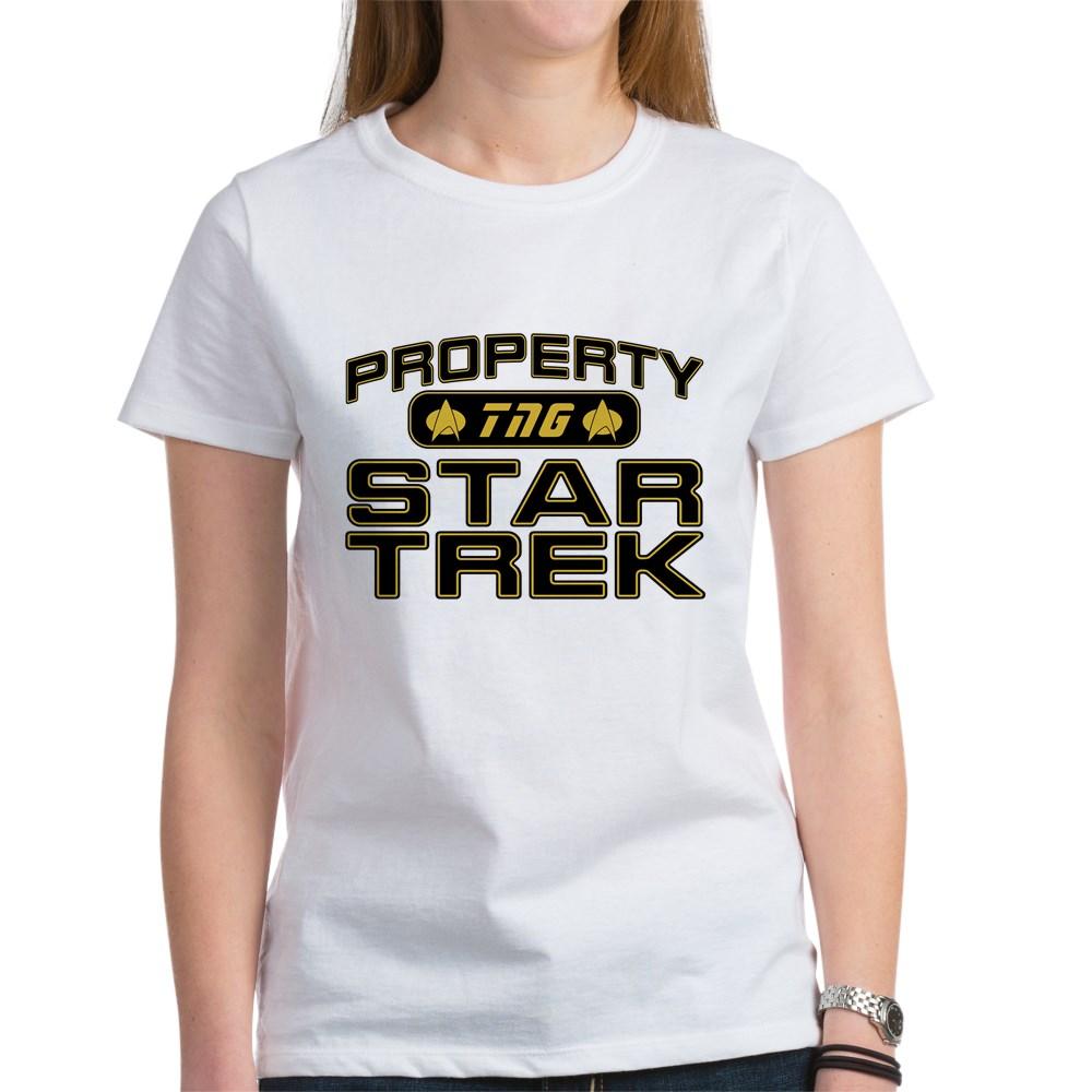 Gold Property Star Trek - TNG Women's T-Shirt