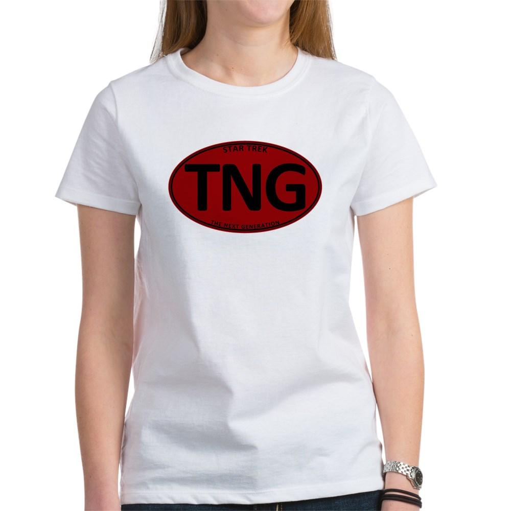 Star Trek: TNG Red Oval Women's T-Shirt