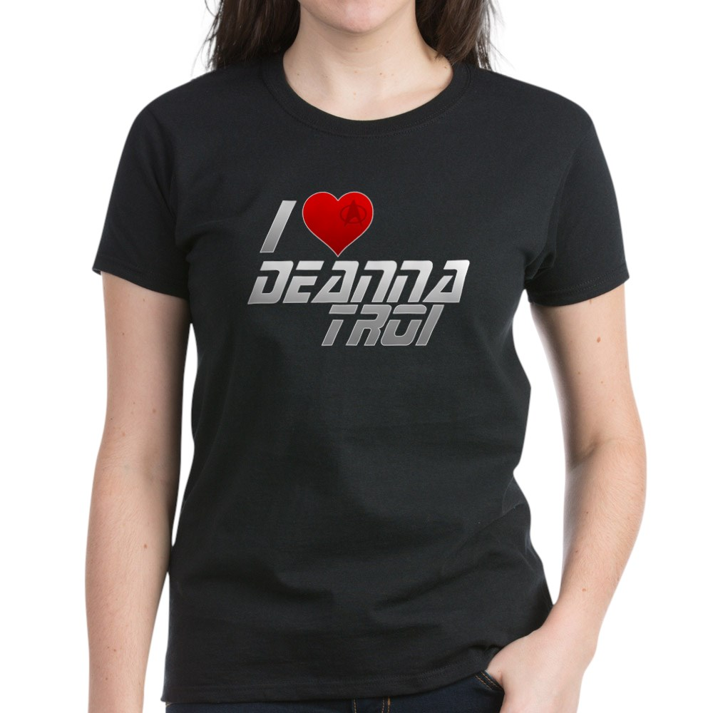 I Heart Deanna Troi Women's Dark T-Shirt