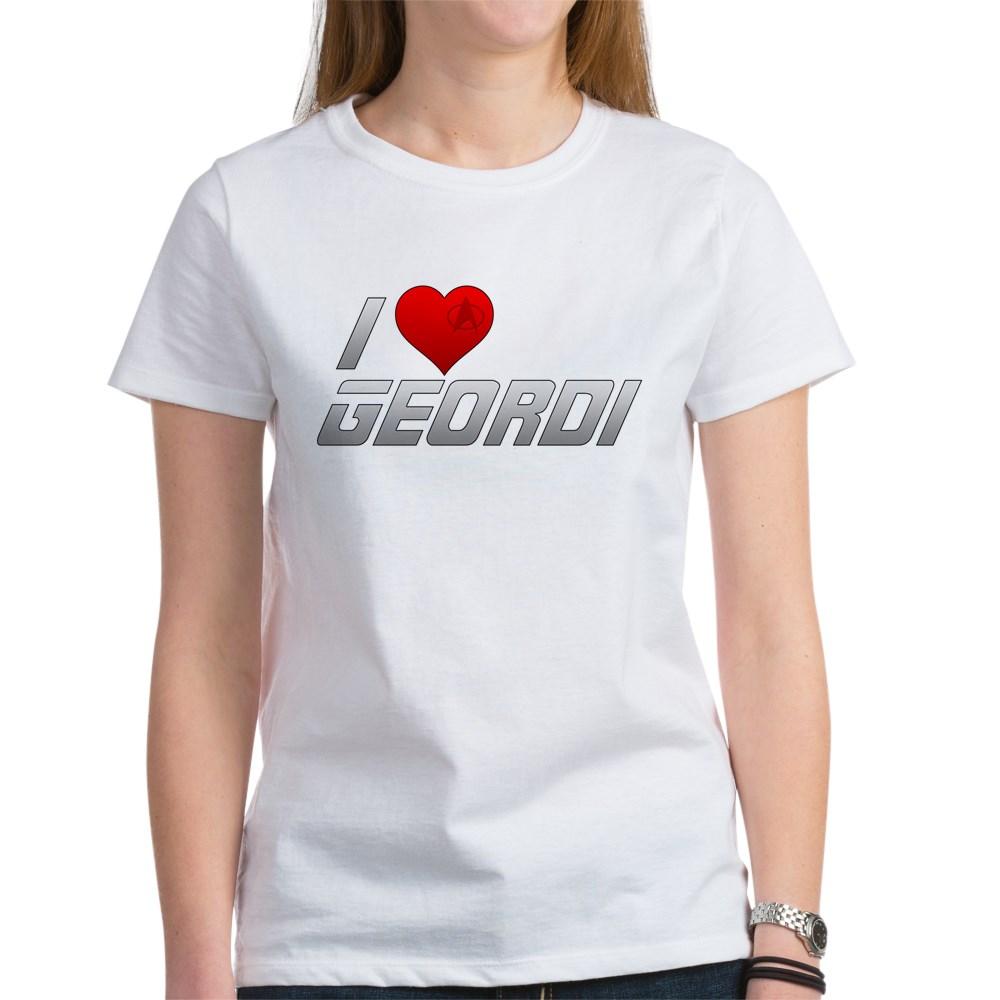 I Heart Geordi Women's T-Shirt