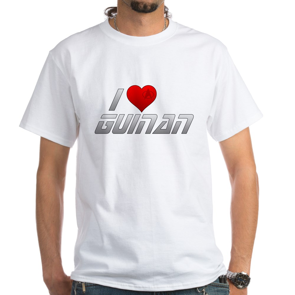 I Heart Guinan White T-Shirt