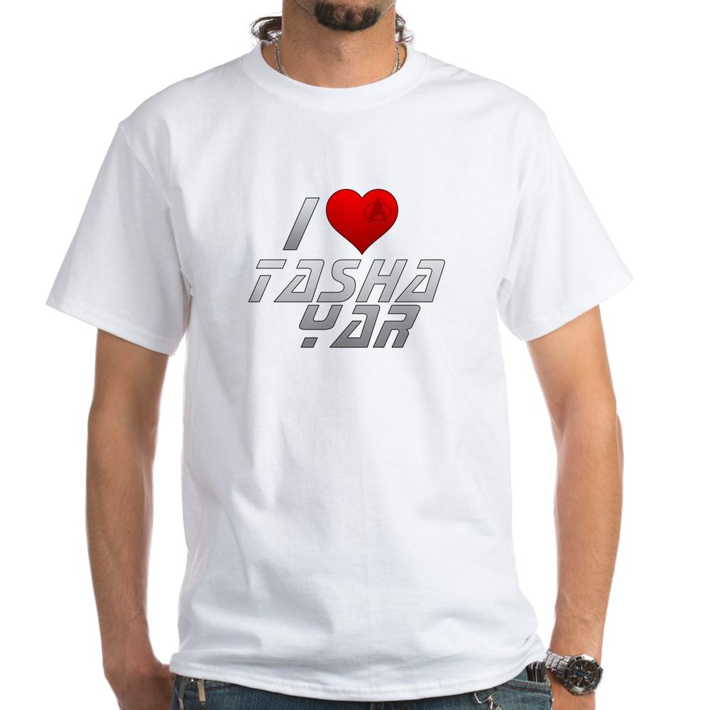 I Heart Tasha Yar White T-Shirt
