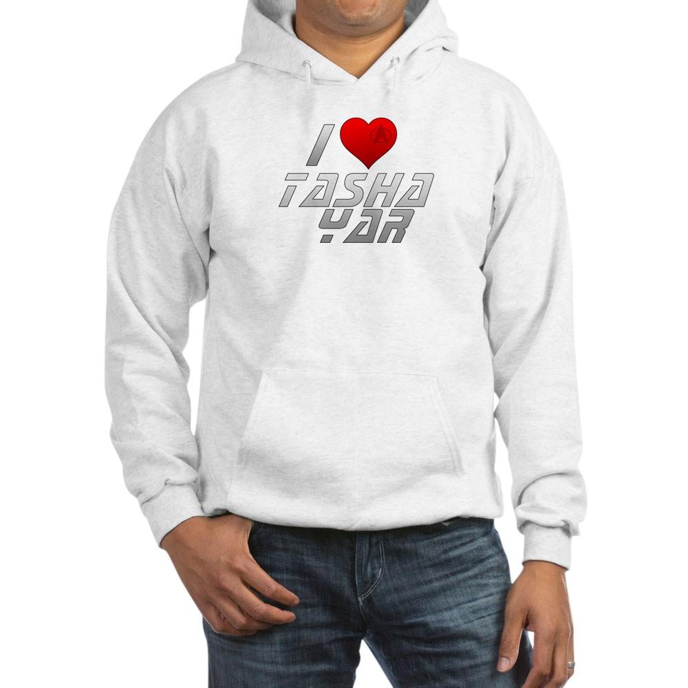 I Heart Tasha Yar Hooded Sweatshirt