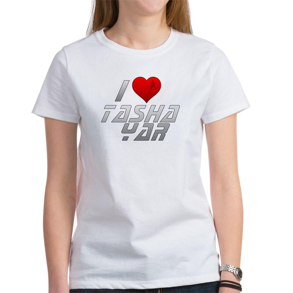 I Heart Tasha Yar Women's T-Shirt