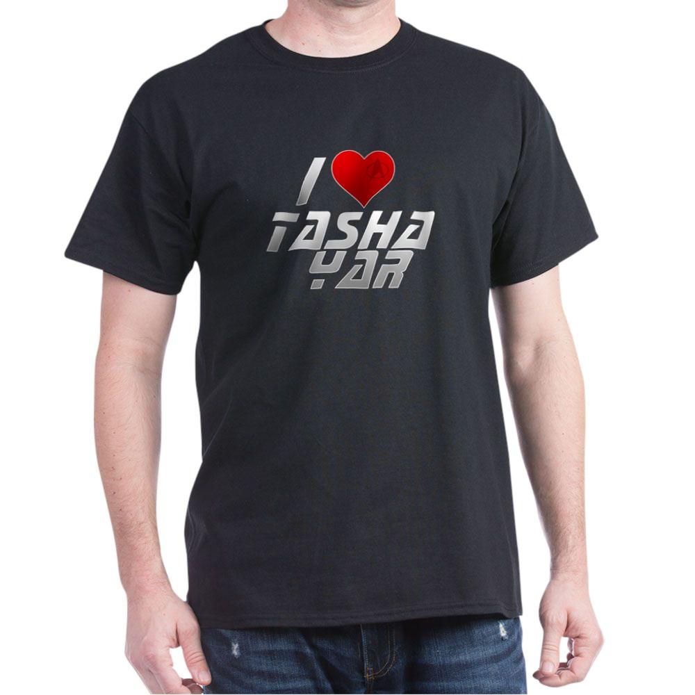 I Heart Tasha Yar Dark T-Shirt