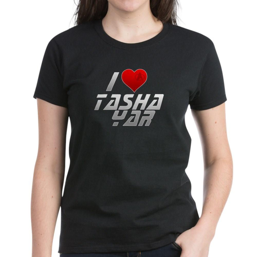 I Heart Tasha Yar Women's Dark T-Shirt