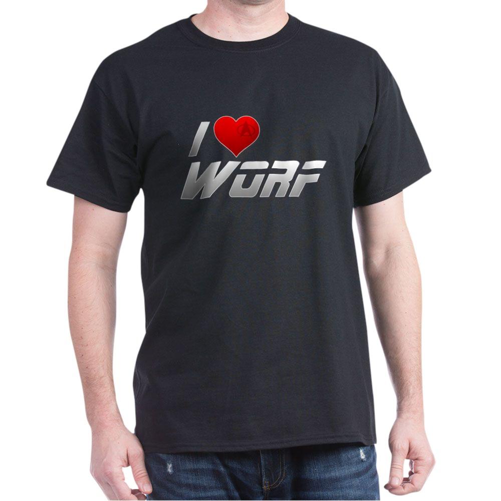 I Heart Worf Dark T-Shirt