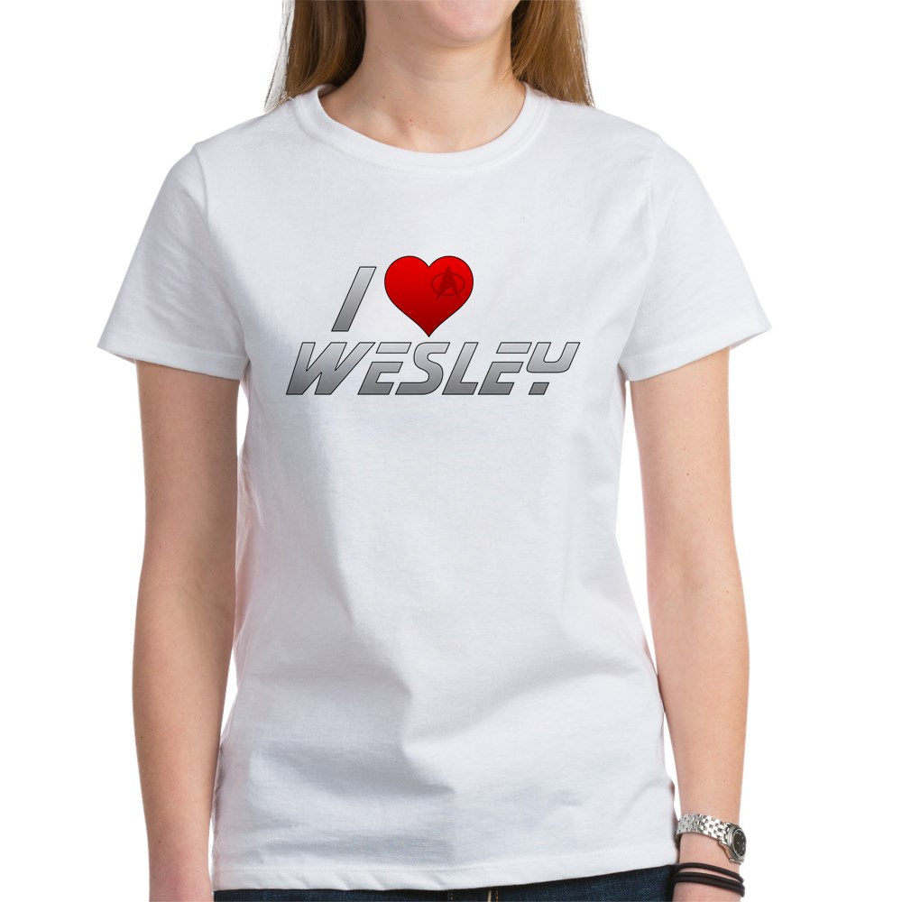 I Heart Wesley Women's T-Shirt