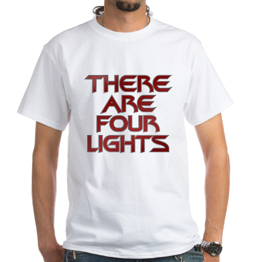 There Are Four Lights White T-Shirt