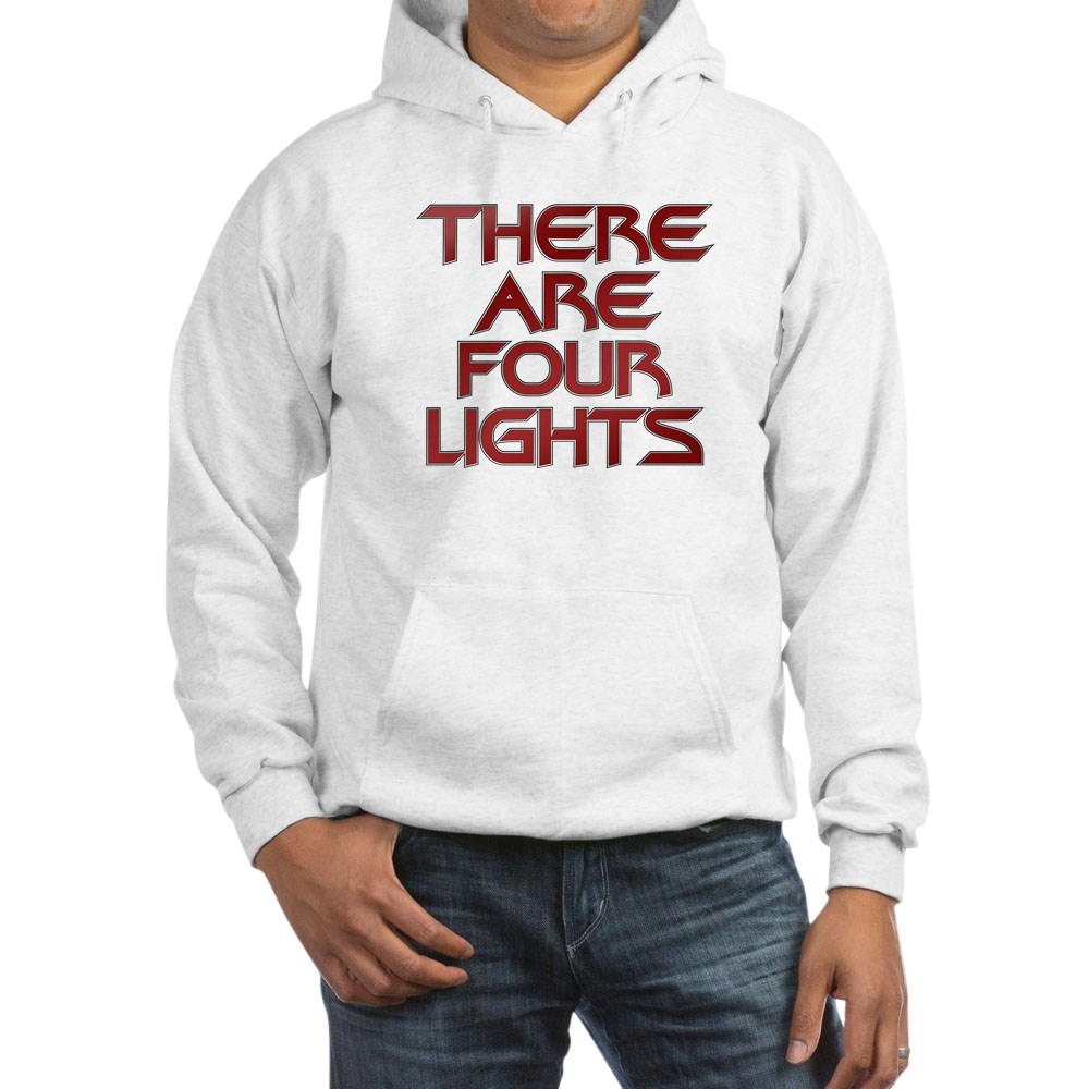 There Are Four Lights Hooded Sweatshirt