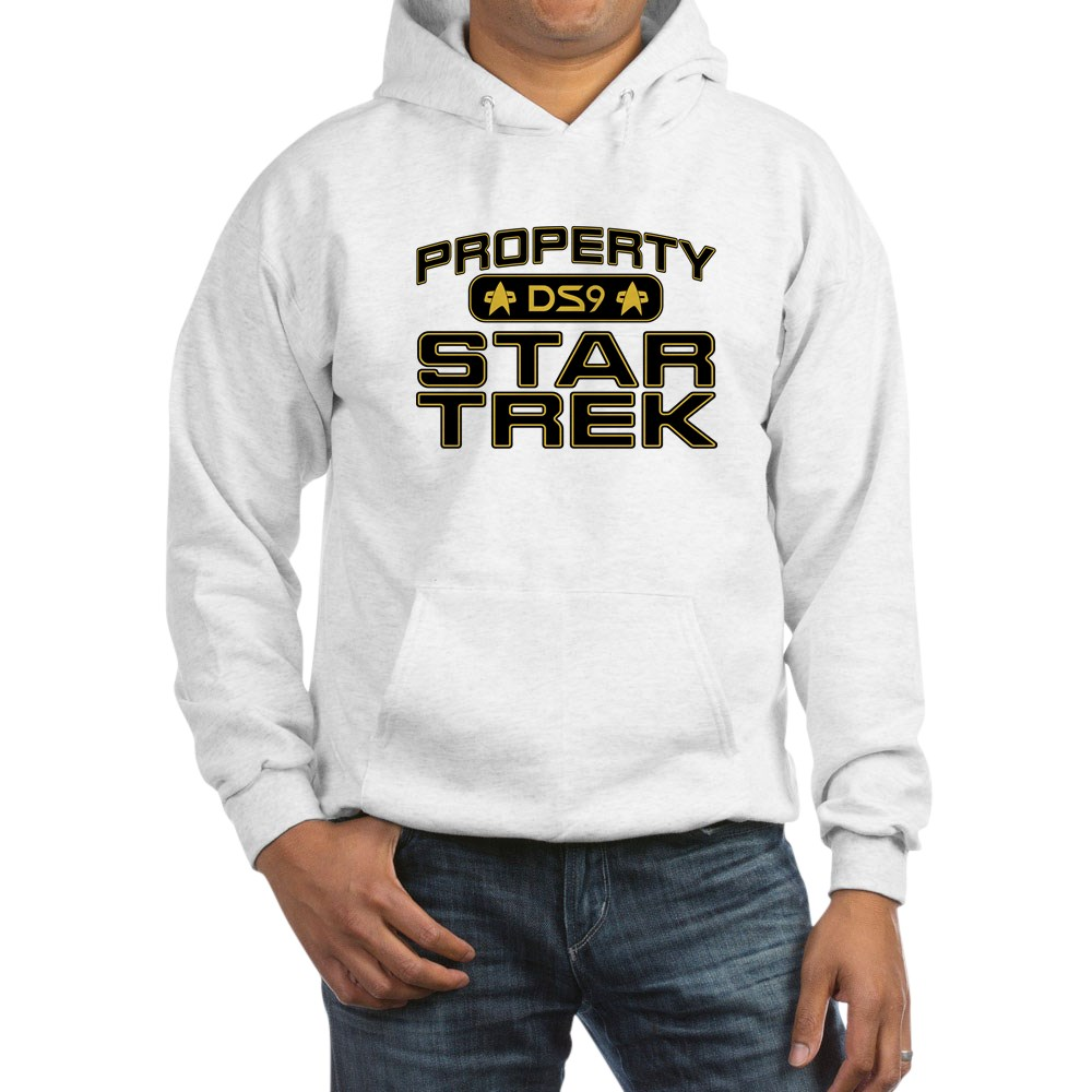 Gold Property Star Trek - DS9 Hooded Sweatshirt
