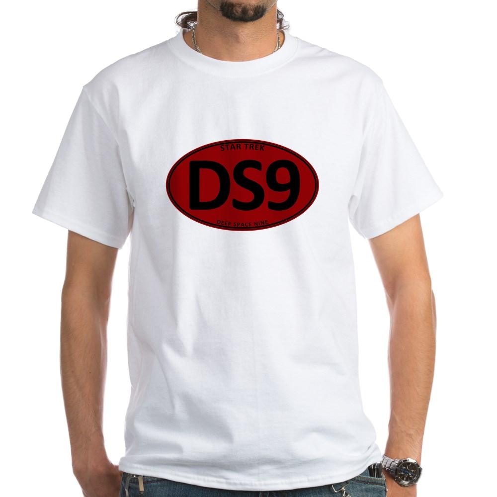 Star Trek: DS9 Red Oval White T-Shirt
