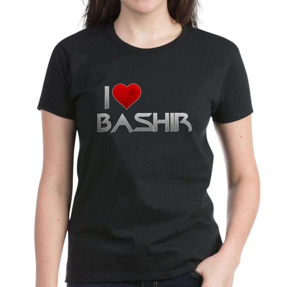 I Heart Bashir Women's Dark T-Shirt