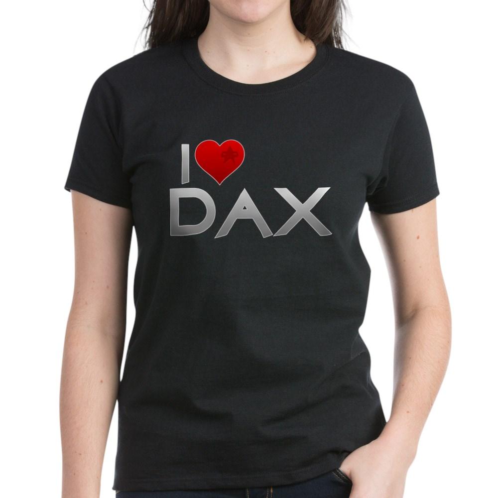 I Heart Dax Women's Dark T-Shirt