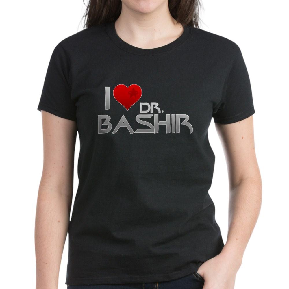 I Heart Dr. Bashir Women's Dark T-Shirt