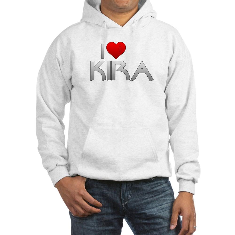 I Heart Kira Nerys Hooded Sweatshirt