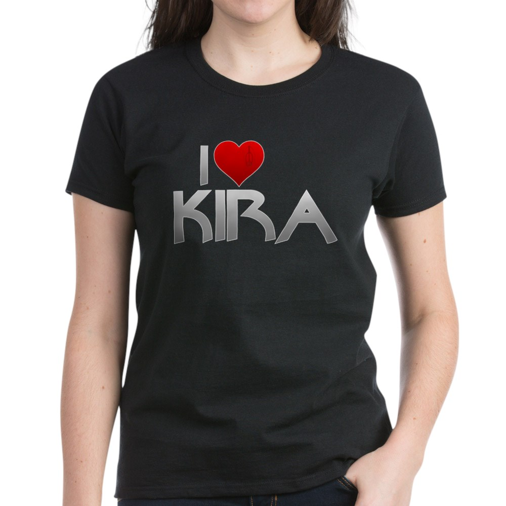 I Heart Kira Nerys Women's Dark T-Shirt